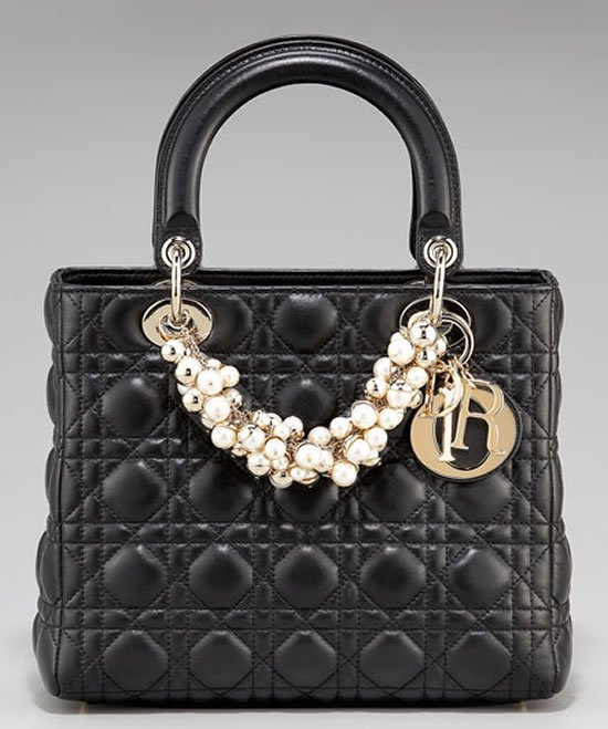 951a942b87f Exuding subtle yet sophisticated style is this charming creation from Dior,  dubbed the Medium Lady Dior handbag that befriends you with its exquisite  ...
