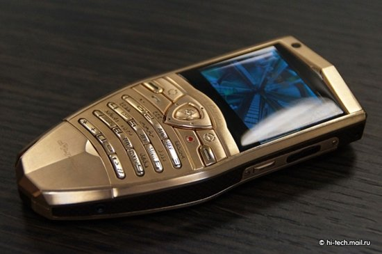 Lamborghini Launches Gold Plated Cell Phones And A Tablet