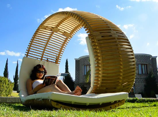 Loopita Bonita Double Patio Lounger Is Inspired By A