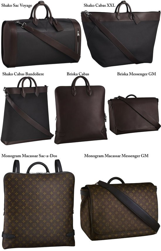 Louis Vuitton S Fall Winter 2010 Collection Of Bags For Men To Be Out Soon