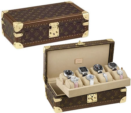 Luxurious Louis Vuitton watch cases are the perfect abode for your ...