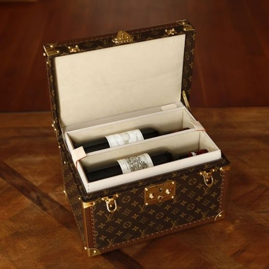 A Custom Made Louis Vuitton Case To Jet Set With Prized