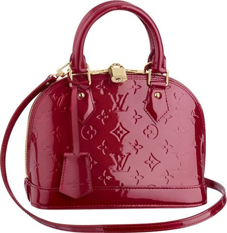 ef70879b85 Louis Vuitton Alma BB in Monogram Vernis  A chic and compact bag