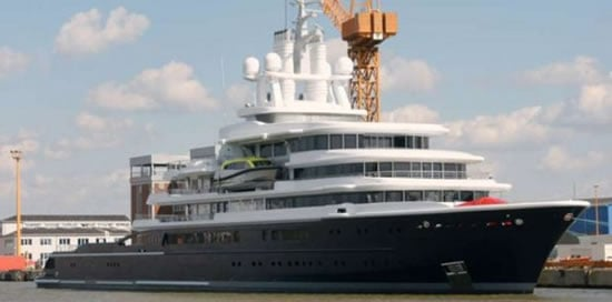 World S Largest Expedition Motor Yacht Luna Finds A New Owner In