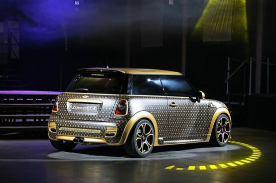World Most Expensive Car >> MINI Cooper JCW gets a Louis Vuitton style makeover by CoverEFX : Luxurylaunches