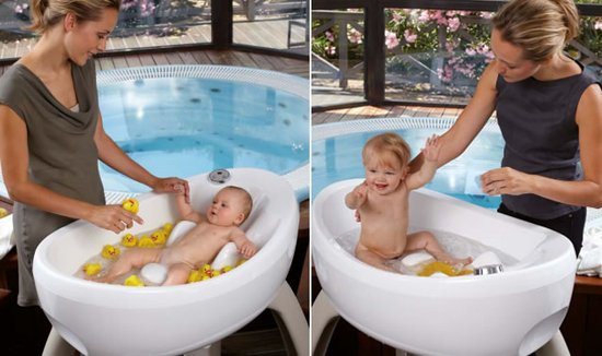 Magic Bath Baby Jacuzzi.Magicbath Whirlpool Tub Surrounds Your Newborn With Bubbles