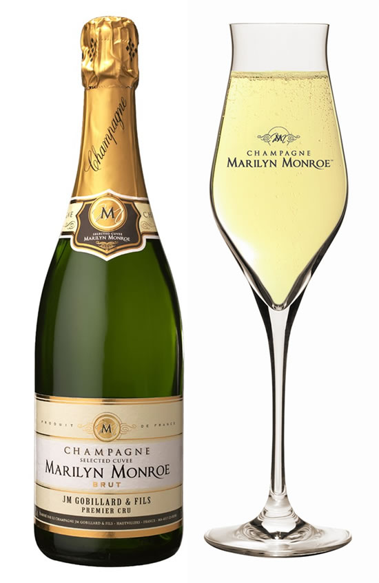 Raise A Toast With Marilyn Monroe Champagne