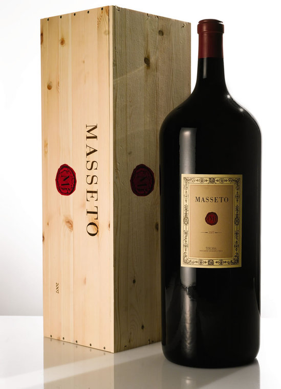 Rare Bottle Of Masseto Wine Earns 49 000 Under Sotheby S