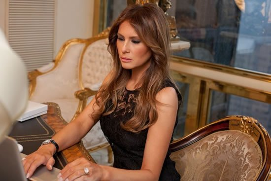Melania Trump allows a glimpse into her opulent life : Luxurylaunches