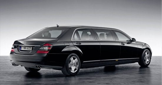 A 1 2 million mercedes benz s600l pullman for the for Mercedes benz s600l