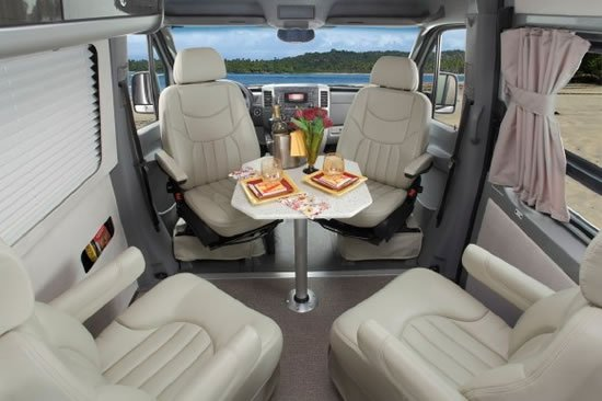 Most Expensive Mercedes >> Airstream's luxury trailer 2011 Interstate 3500 comes with a Mercedes-Benz chassis