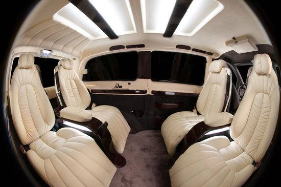 Mercedes-Benz Vito gets a jet-inspired interior by Vilner -