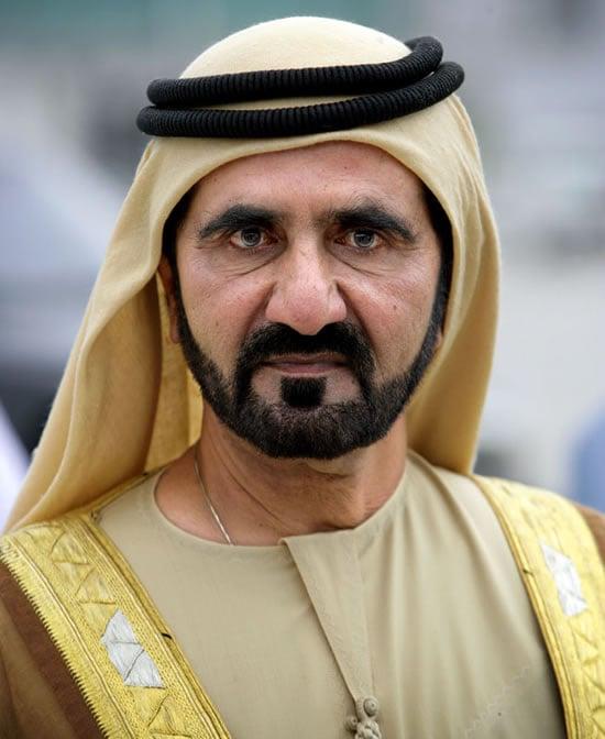Muhammad Bin Raschid Al Maktum Zoe Grigorakos