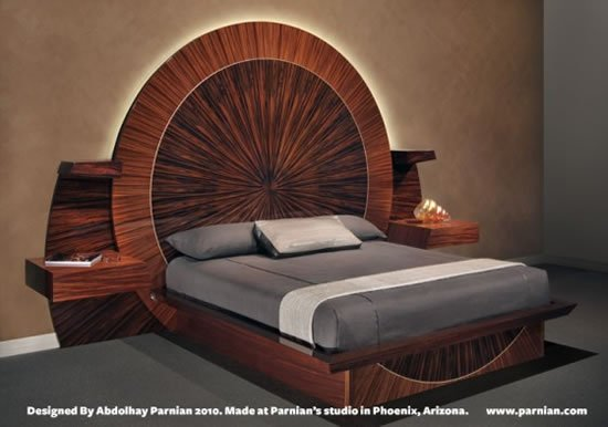 Parnian furniture unveils the world s most expensive bed for World s most expensive furniture