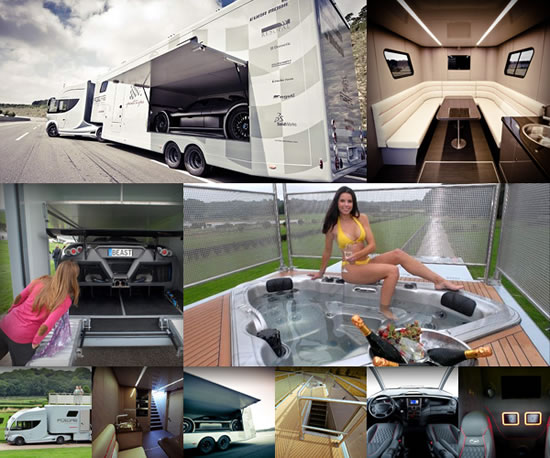 There Are Trailers Of Every Kind Today Right From A Trailer Cum Cabinet Or An Eco Friendly House On Wheels Modular Home