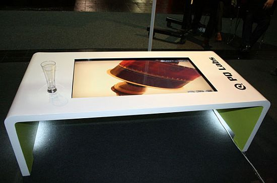 ITable Hitech Multitouch Coffee Table - Multitouch coffee table