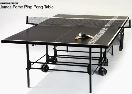 If Sporty For You Means Black, I Couldnu0027t Disagree As It Is The Same For  Many Of Us. The Custom, Limited Edition James Perse Ping Pong Table Branded  With ...
