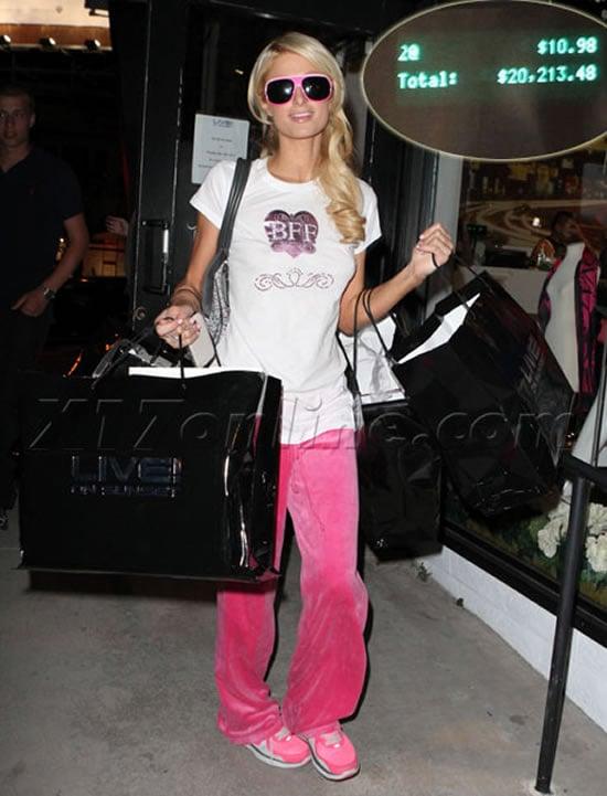 Paris-Hilton-shopping