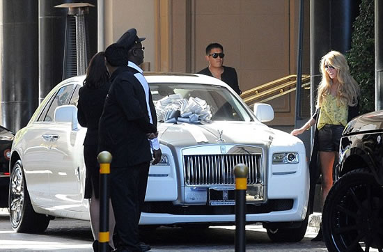 ... Royce Ghost rolls in as a surprise wedding gift for Petra Ecclestone