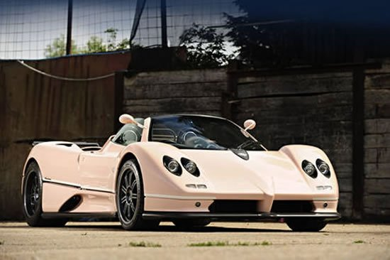 Pink Pagani Zonda Roadster To Go Under The Hammer At The 2011 Goodwood  Festival Of Speed