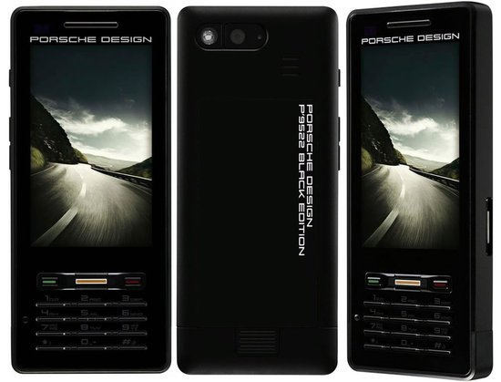 porsche design unveils p 39 9522 black mobile phone exclusively for porsche owners. Black Bedroom Furniture Sets. Home Design Ideas
