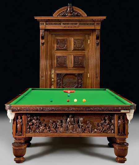 Exquisite Billiards Table At Harrods For 1 6million
