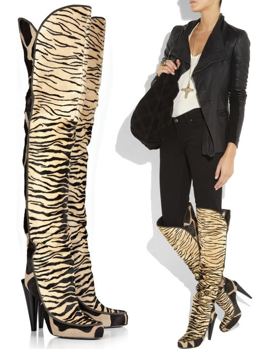 Roberto-Cavalli-Thigh-high-Calf-Hair-boots-1
