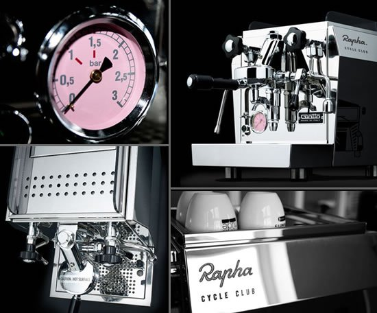 Beautiful Giotto Rapha Cycle Club Espresso Machine Sports A Pink Dial Pictures