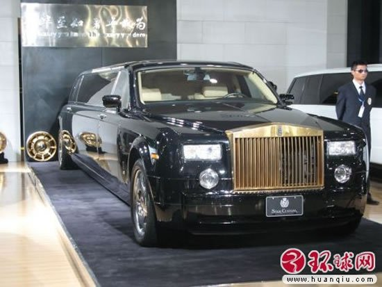 Rolls-Royce-Phantom-with-gold-grilles-2
