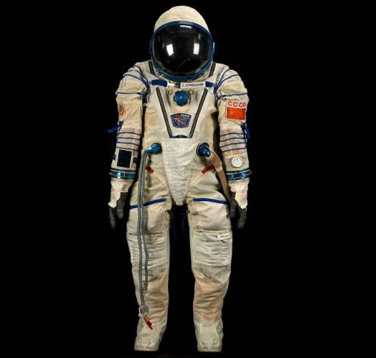 Bonhams Offers Russian Spacesuit To Celebrate 50th