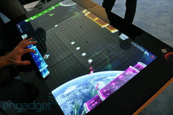 Microsoft and Samsung SUR40 multitouch table may soon ...