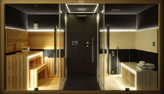 Sasha Home Spa Combines A Sauna