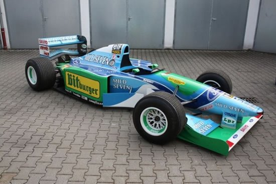 Schumi-Benetton-B194-8-car