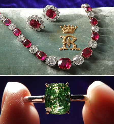 Sotheby S Magnificent Jewels Auction Sets Two World Records