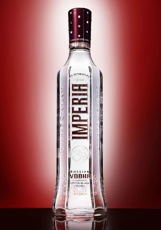 Most Expensive Cars >> Special Edition Imperia Vodka bottle dazzles with