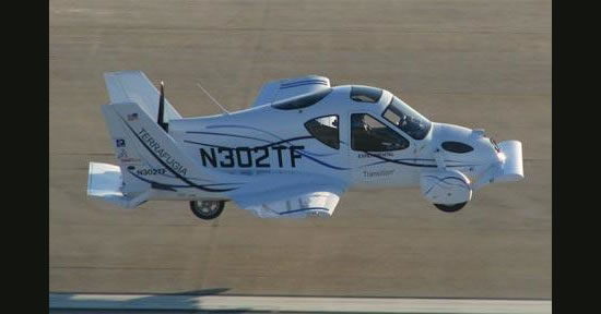 The US FAA gives the green signal to the Terrafugua Transition flying car : Luxurylaunches