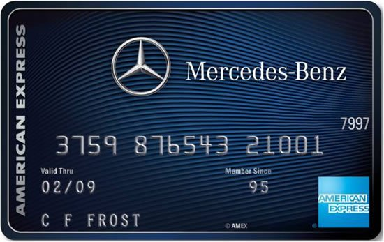 mercedes credit card discounts uk