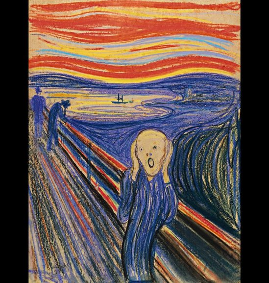 "Celebrities Cars: Famous Drawing ""The Scream"" Will Be Auctioned Off For $80"