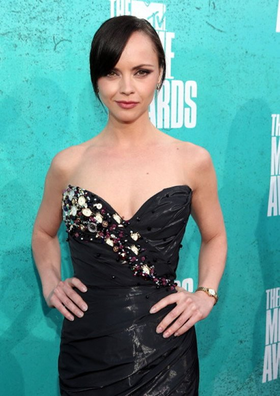 Christina Ricci Walks On The Red Carpet With The First