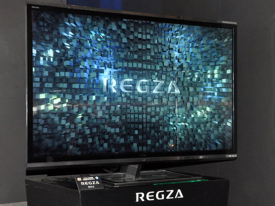 Toshiba Regza 55x3 is the world first naked-eye 3D TV with