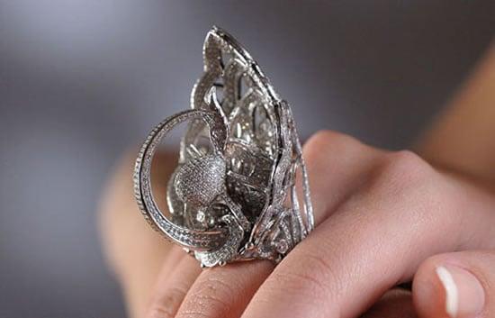 Tsarevna-Swan-Ring
