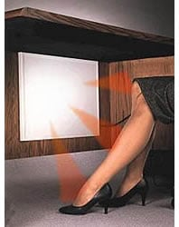 Under Desk Heater To Keep Your Legs Toasty Warm For Winters