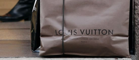 Used Luxury shopping bags actually sell in Korea -
