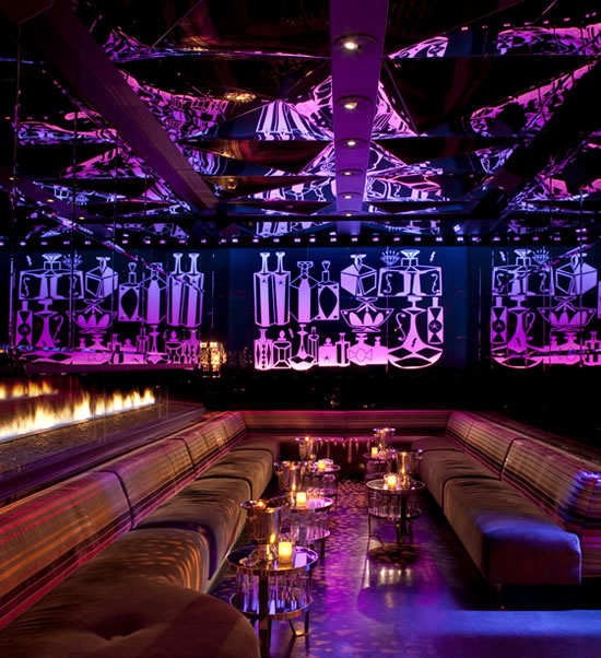 Vanity Club At Hard Rock Hotel In Las Vegas Is Extravagance Personified
