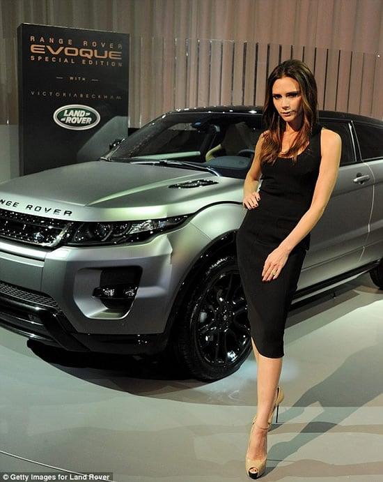Victoria Beckham edition Range Rover Evoque