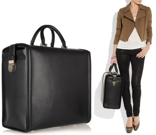 Victoria Beckham leather travel bag is a must for the jet ...