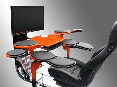 Vision One Computer Workstation Is The Most Luxurious Desk