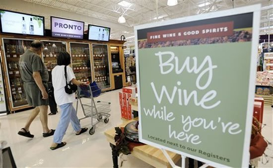Wine vending machines hit the supermarkets of Pennsylvania, U.S : Luxurylaunches