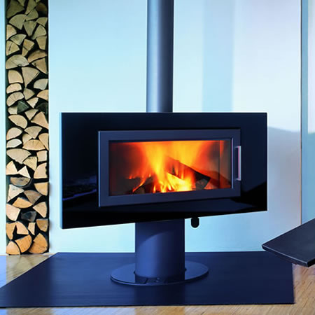 The Wodtke Fire Sl Fireplace A Widescreen Hearth For The