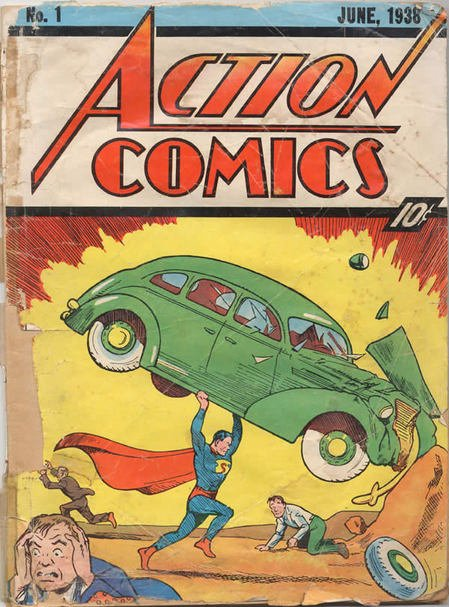 Superman S First Issue Is The Most Expensive Comic